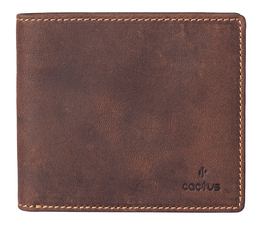 Cactus Basic Leather Wallet RFID