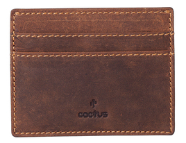 Cactus Card Holder Leather RFID