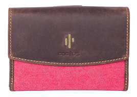 Cactus Flap Over and Tab Medium Purse RFID