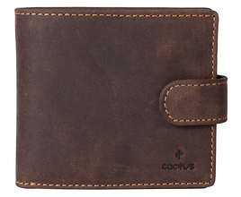 Cactus Tab Leather Wallet RFID
