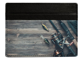 Kalmin Printed Card Holder Fishing - RFID