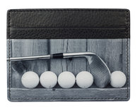 Kalmin Printed Card Holder Golf- RFID