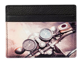 Kalmin Printed Card Holder Motorbike- RFID
