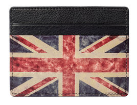 Kalmin Printed Card Holder Union Jack -  RFID