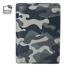 Kalmin Printed Compact Wallet Camouflage - RFID