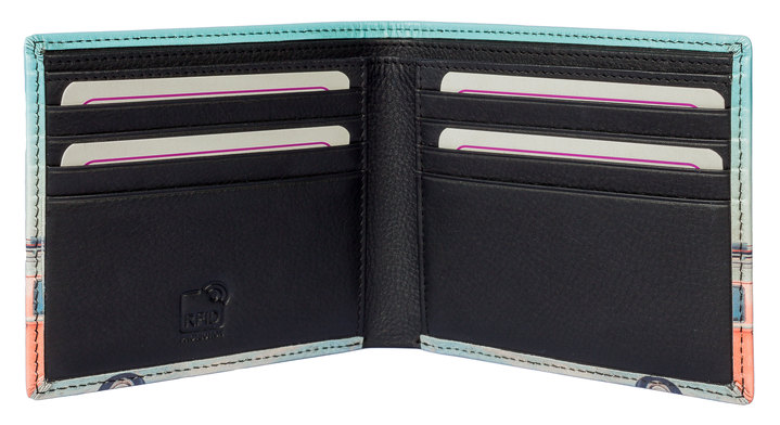 Kalmin Printed Wallet Golf - RFID