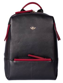 Mason Back Pack Black/Red
