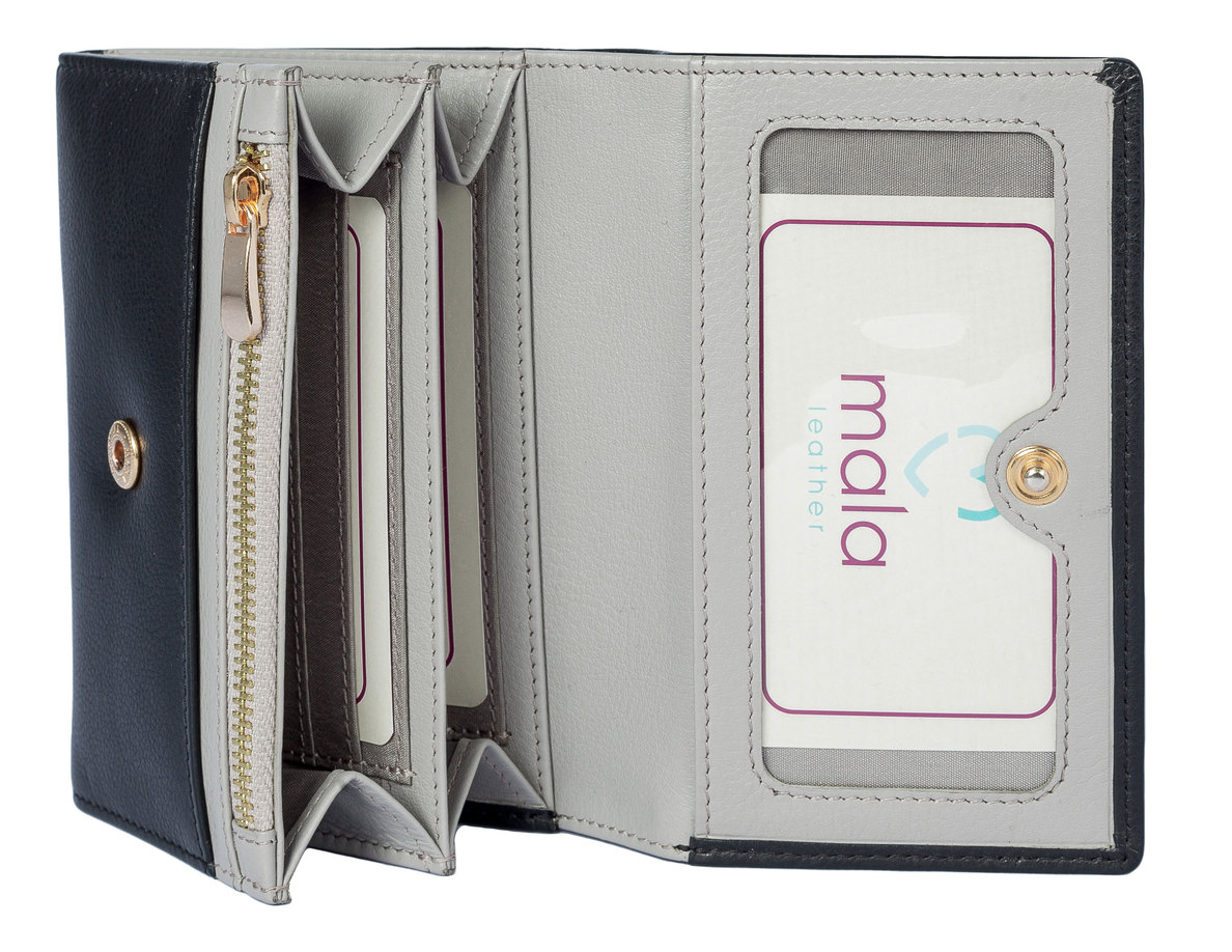 Mala Mason Collection Leather Purse with RFID Protection 3473/_27