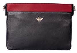 Mason Cross Body Bag Black/Red