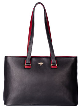 Mason Shoulder Bag Black/Red
