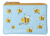 Pinky Bee Happy Coin Purse