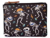 Pinky Dancing Skeleton Coin purse