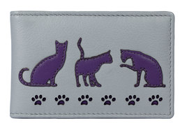 Poppy Cat Oyster Travel ID Card Holder