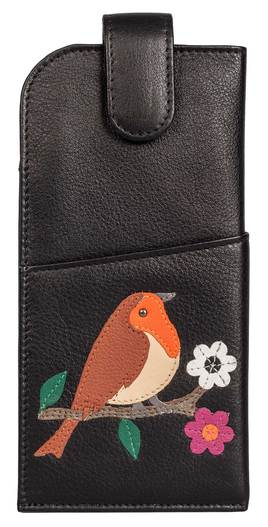 Robin Leather Glasses Case
