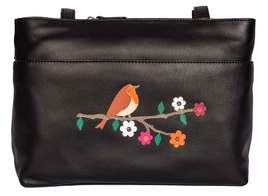 Robin Leather Shoulder Bag