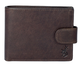 Shaftsbury Tab Wallet with Coin Pocket - RFID
