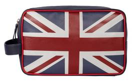 Union Jack Collection Navy Multi Washbag