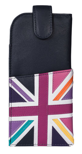Union Jack Glasses Case Bright Multi