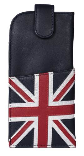 Union Jack Glasses Case Navy