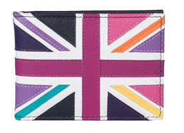 Union Jack ID / Card Holder Bright Multi - RFID