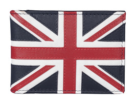 Union Jack ID / Card Holder Navy - RFID