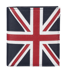 Union Jack Wallet Navy - RFID