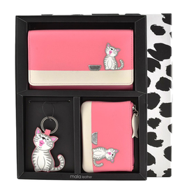 Ziggy Cat Leather 3 Piece Gift Set